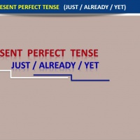 The Present Perfect Tense (Just - Already - Yet )