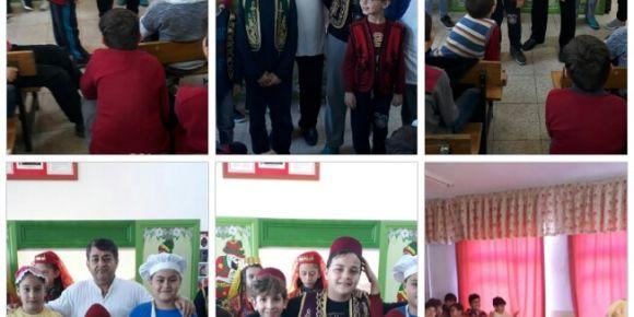Öğrencilerimiz  geleneksel Karagöz-Hacivat gölge oyununu izledi