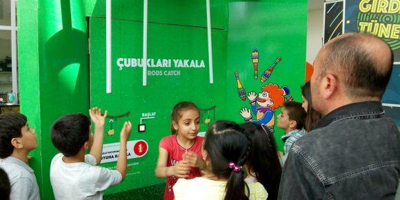 Pazarcık Cengiz Topel İlkokulu Gaziantep Bilim ve Gezegen Evini ziyaret etti