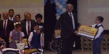 Karahüyük Ali Akkanat İlkokulunda ödül sevinci