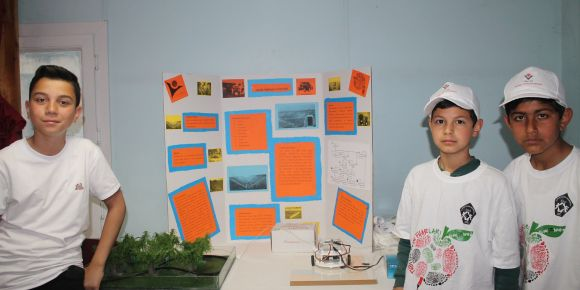 Okulumuzda TUBİTAK 4006 Bilim ve Robot Fuarı yoğun bir katılımla gerçekleşti