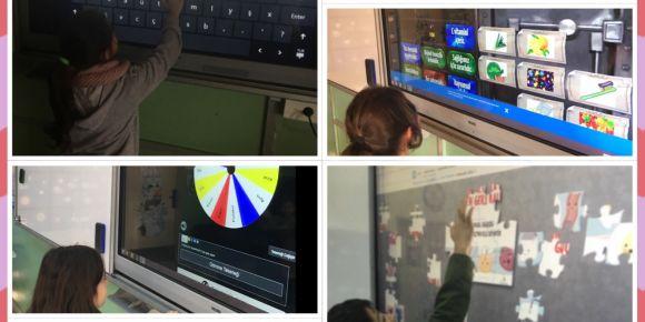 Öğrencilerimiz web 2 araçlarını kullanıyor