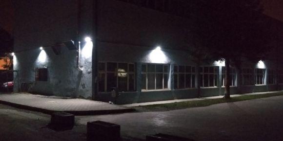 Düzce EML okulumuz bina ve bahçe aydınlatması güneş enerjisiyle sağlanıyor
