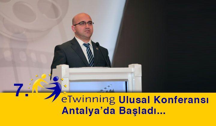 7. eTwinning Ulusal Konferansı Antalya'da Başladı