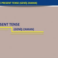 Simple Present Tense - Geniş Zaman