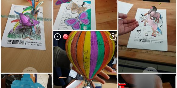 Yüksekova Anadolu İmam Hatip Lisesi artırılmış gerçeklik uygulamaları