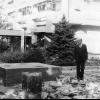 """""""Meçhul Öğretmen"""" anıtı inşaatı, 1983"""