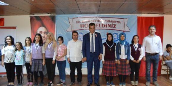 Dünyanın ilk ve tek eğitim bayramının yirmincisi Besni'de kutlandı