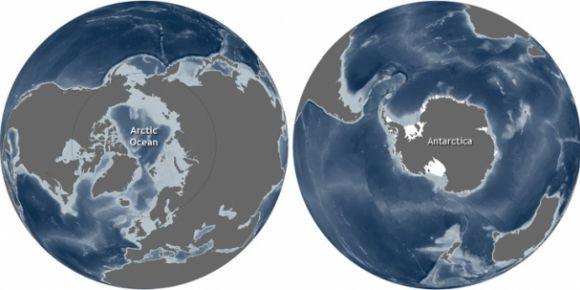 Kuzey kutbu mu daha soğuktur, güney kutbu mu