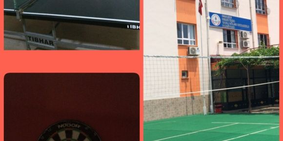 Remzi Özer Yatılı Bölge Ortaokulu öğrencilerine spor fırsatları sunmaya devam ediyor