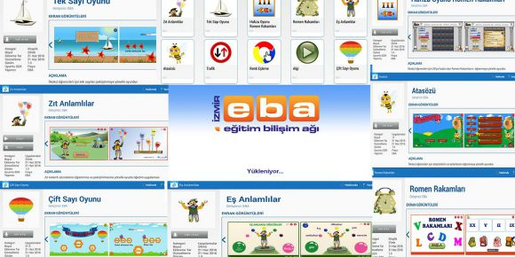 İzmir EBA ekibinin hazırladığı ilkokul kademesi uygulamaları EBA Dükkan'da