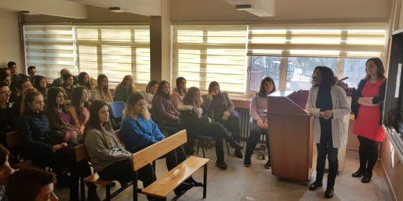 Uzunköprü Anadolu Lisesi yeni e-twinning projesi etkinliklerini uygulamaya başladı