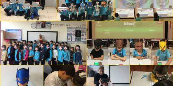 Teletaş İlkokulu 1-I sınıfı Be Digital adlı etwinning projesini tamamladı
