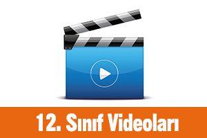 12. Sınıf Videoları