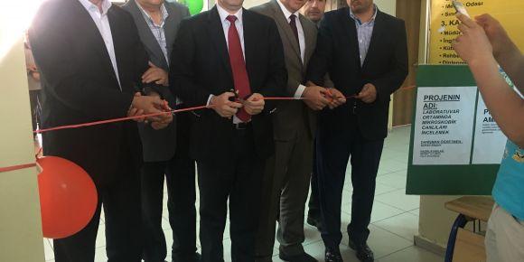 Şanlıurfa Karaköprü Anadolu İmam Hatip Lisesinde Tubitak bilim fuarı