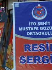 Türkiye'de ilk Karekod'lu resim sergisi
