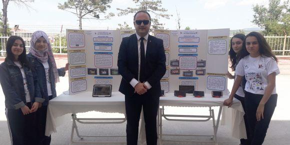 Vezirköprü Anadolu Lisesi 4006 TÜBİTAK Bilim Şenliği