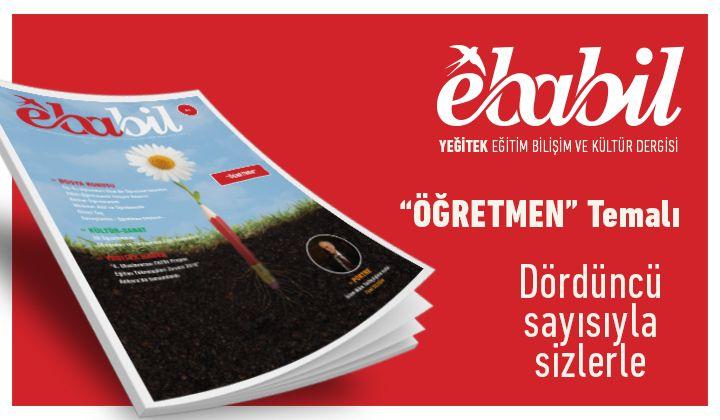 Ebabil Dergisi Yeni Sayısıyla Sizlerle