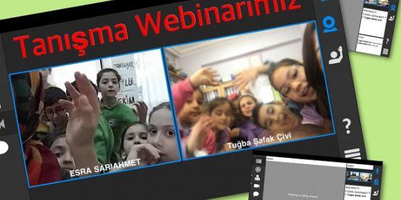 Öğrencilerin webinar buluşması