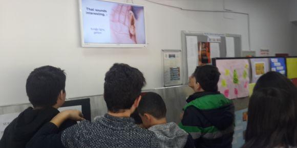 Hasan Polatkan Ortaokulu İngilizce'yi Ekrana Taşıdı