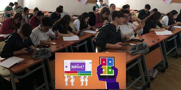 Öğrencilerin en çok eğlendiği web 2.0 aracı kahoot!