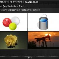 Türkiye'deki Başlıca Madenler - 2
