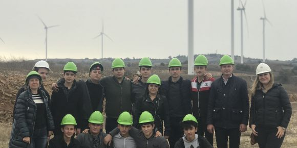 Rüzgar santrali teknik gezisi
