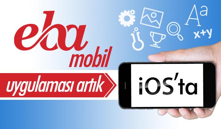 EBA Mobil Uygulaması Artık iOS ta...