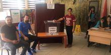 Seyhan Dumlupınar'da Okul Meclis Başkanı seçimi yapıldı.