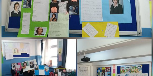 Pursaklar Saray İlkokulu 4/K Sınıfı her ay bir yazar ve eserlerini tanıyor