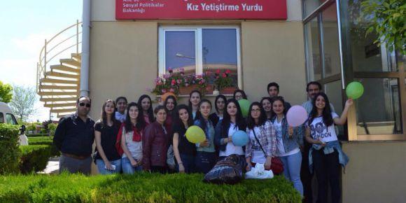 Adana sevgi evlerine ziyaret ettik