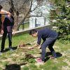 Öğrencilerimiz ve öğretmenlerimizle birlikte okul bahçemizde genel bir temizlik yaptık