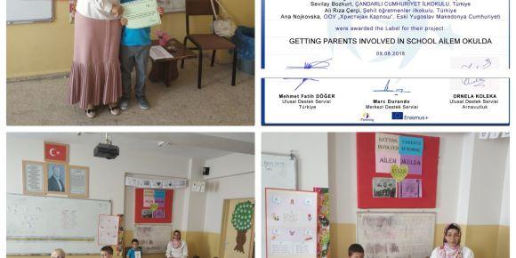 Mehmet Cevlani Önal İlkokulunda veli ziyaretleri başladı