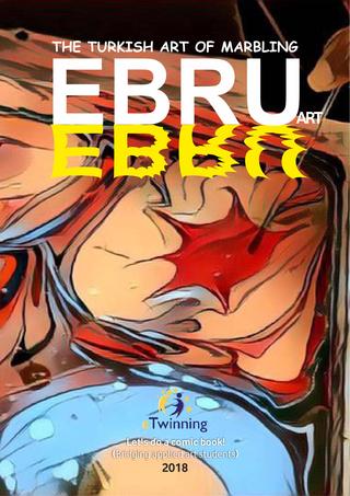 Ebru Sanatı 'Çizgi roman' (İngilizce)