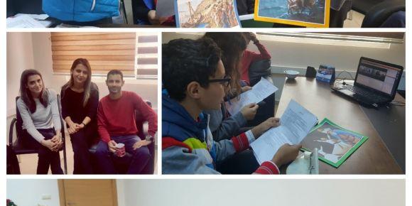 Antakya Gazi Ortaokulu Erasmus+ projesinin İlk webinar toplantısını gerçekleştirdi.