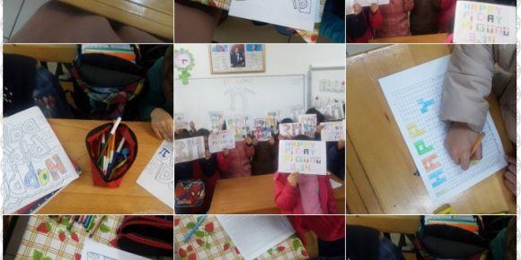 Hacı Ali Osman Gül İlkokulu dünya Pi Günü'nü kutladı
