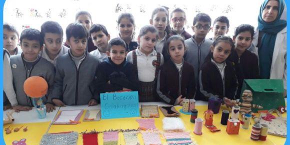 Kurtuluş İlkokulu 4 /B Sınıfı yıl sonu sergisi