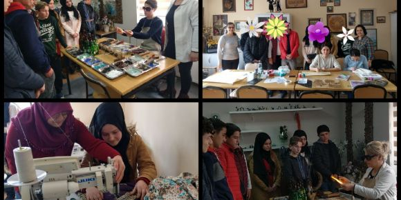 Kültürümüz Yapbozlarda: Öğrencilerimizle El Sanatları Gezisi