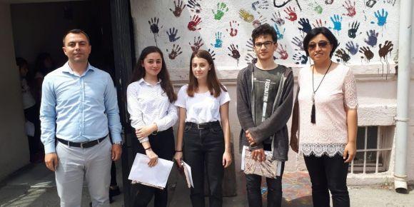 Bandırma Ortaokulu English Olympics  adlı eTwinning Projesinİ Başarı ile Bitirdi