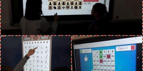 Kaman Yenihayat Ortaokulu  akıl ve zekâ oyunları ile öğreniyor