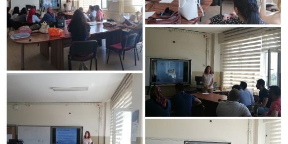 Fatih Sultan Mehmet Ortaokulu'nda Scientix - STEM proje tanıtımı