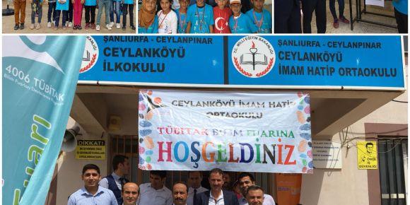 Ceylanköyü Imam Hatip Ortaokul 2018 TÜBİTAK bilim fuarı yapıldı