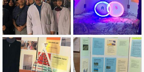 Arif Nihat Asya Kız Anadolu İmam Hatip Lisesi TÜBİTAK 4006 Bilim Fuarı