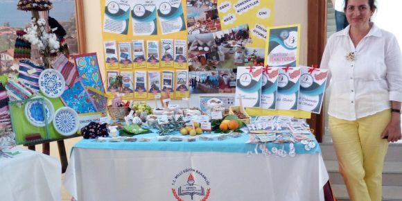 """eTwinning Antalya İl Çalıştayı """"Yurdumun Zenginliklerini Tanıyorum"""" Proje Ürünleri Sergisi"""