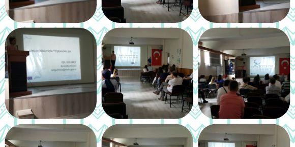 Bursa - Yıldırım Adnan Menderes Ortaokulu'nda Scientix - STEM tanıtımı