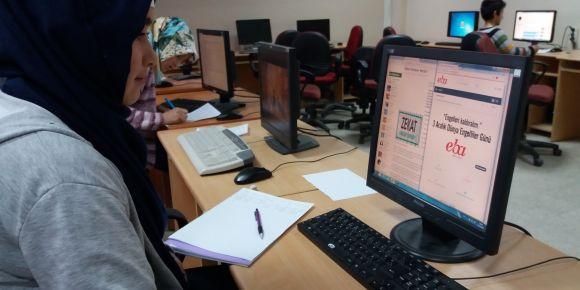Öğrencilerimiz araştırmalarını EBA'da güvenli olarak yapıyor