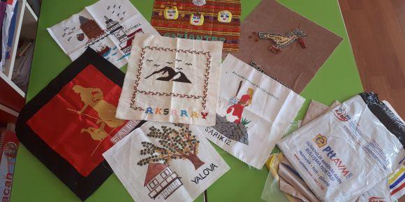 Masal battaniyemizin parçaları hoşgörü kenti Konya'da buluşuyor
