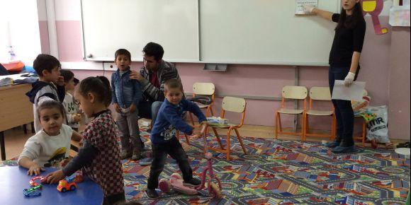 Ballık İlkokulu'nda genel sağlık taraması