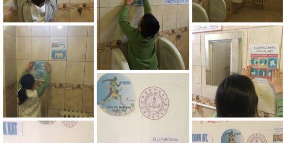 Okulumuzda hijyen ve tuvalet eğitimi çalışmaları