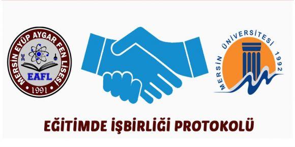 Eğitimde Eyüp Aygar Fen Lisesi - Mersin Üniversitesi işbirliği